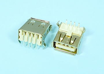 USB A Type 4Pin Female Board Side DIP 90°